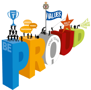Be Proud Awards Logo